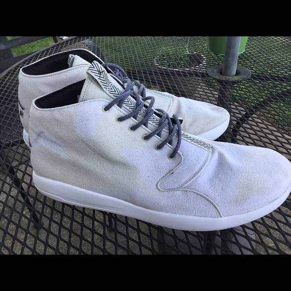Air Jordan Mens Size 5 Canvas Shoes